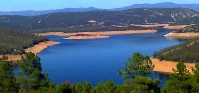 El embalse de Cijara (Extremadura)