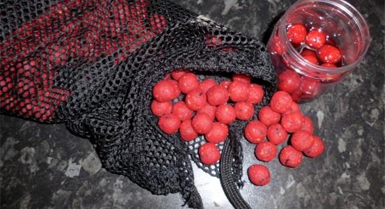 Boilies y pellet de fresa